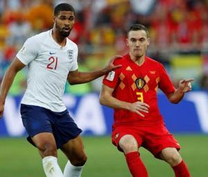 بیلجیئم نے انگلینڈ کو 0-1 سے شکست دے دی