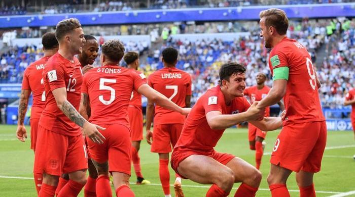 فٹبال ورلڈ کپ: انگلینڈ کی ٹیم سوئیڈن کو شکست دے کر سیمی فائنل میں پہنچ گئی