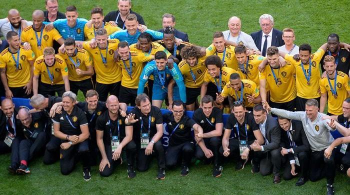 فٹبال ورلڈ کپ میں انگلینڈ کو شکست، بیلجیئم نے تیسری پوزیشن حاصل کر لی