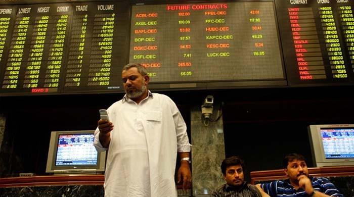 ڈالر کی بلند ترین سطح: پاکستان اسٹاک ایکسچینج میں شدید مندی