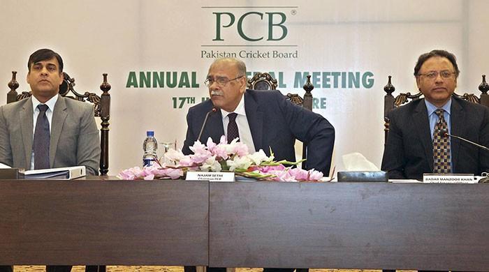 پی سی بی گورننگ بورڈ کا اجلاس، نجم سیٹھی پر مکمل اعتماد کا اظہار