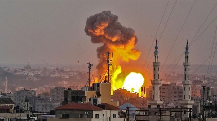 غزہ میں اسرائیلی فوج کے حملوں سے 4 فلسطینی شہید