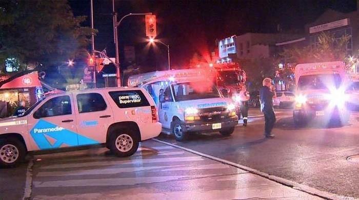 کینیڈین شہر ٹورنٹو میں فائرنگ، ایک شخص ہلاک اور 14 زخمی