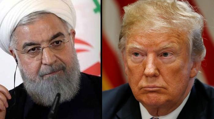 امریکی صدر ٹرمپ اور ایرانی صدر روحانی کی ایک دوسرے کو 'دھمکیاں'