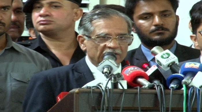 اللہ کرے الیکشن کے نتیجے میں ملک کو ایماندار وزیراعظم نصیب ہو: چیف جسٹس