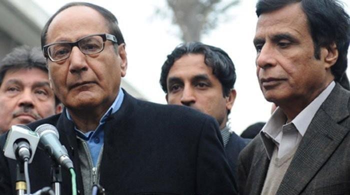 ق لیگ کا مرکز اور پنجاب میں تحریک انصاف کی حمایت کا فیصلہ