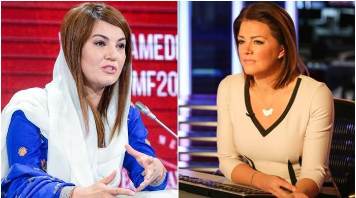 ریحام خان کا انٹرویو کرنے والی امریکی ٹی وی کی صحافی کو شدید تنقید کا سامنا