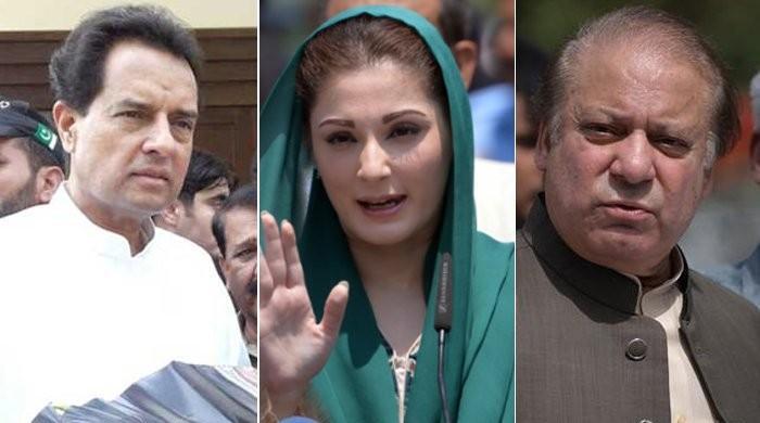 نواز،مریم، صفدرکی سزا کیخلاف اپیل:لاہور ہائیکورٹ بینچ سربراہ کی کیس سننےسے معذرت