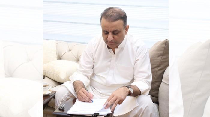 پنجاب کابینہ میں بطور وزیر حلف لینے سے قبل علیم خان نے کمپنیوں سےاستعفیٰ دے دیا