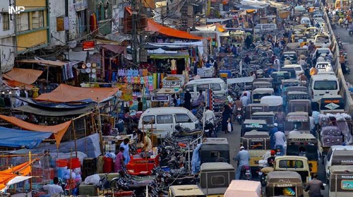 کراچی ! تجاوزات کا جنگل