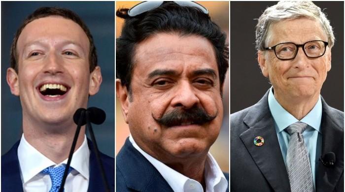 جھوٹی خبر: جب شاہد خان، مارک زکربرگ اور بل گیٹس نے ڈیم فنڈ کیلئے چندہ دیا