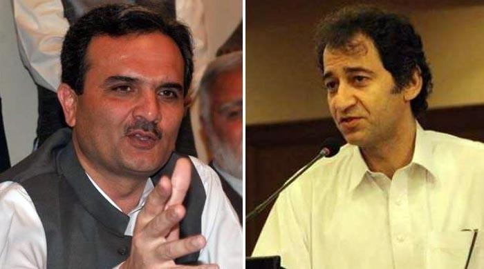 عاطف خان نے امیر حیدر کی این اے 21 مردان سے الیکشن میں کامیابی چیلنج کردی