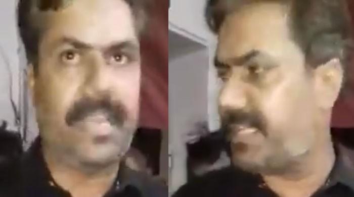 پی ٹی آئی حیدرآباد کے رہنما کی پولیس اسٹیشن میں گھس کر بدمعاشی، گرفتار ملزم کو چھڑوا کر لے گئے