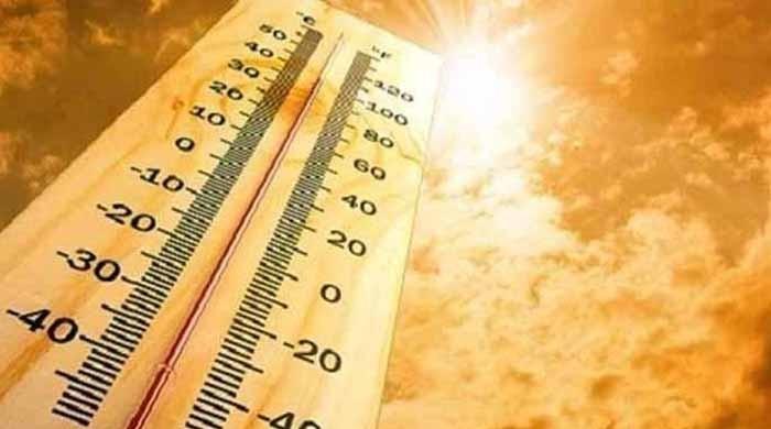 کراچی میں گرمی، درجہ حرارت 38 ڈگری سے تجاوز کرگیا