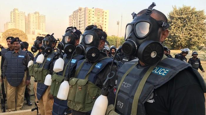 کراچی میں ہنگاموں سے نبرد آزما ہونے کیلئے انسداد فسادات فورس کا قیام