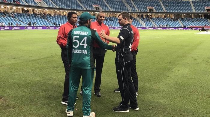 پاکستان اور نیوزی لینڈ کا میچ بارش کے باعث بے نتیجہ ختم، سیریز 1-1 سے برابر