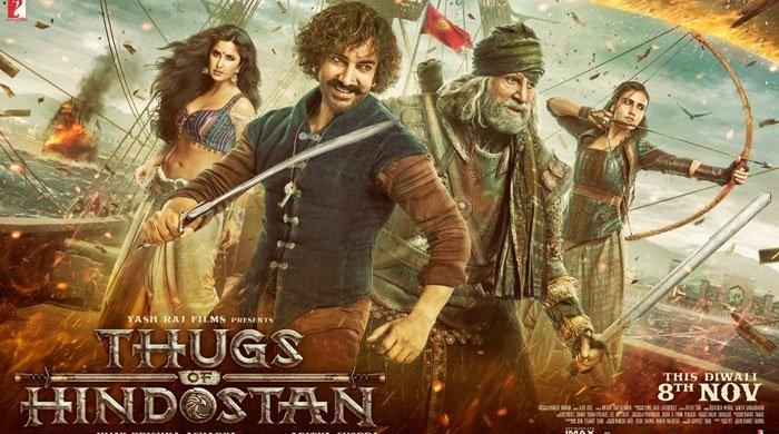عامر اور امیتابھ کی 'ٹھگز آف ہندوستان' بری فلم نہیں