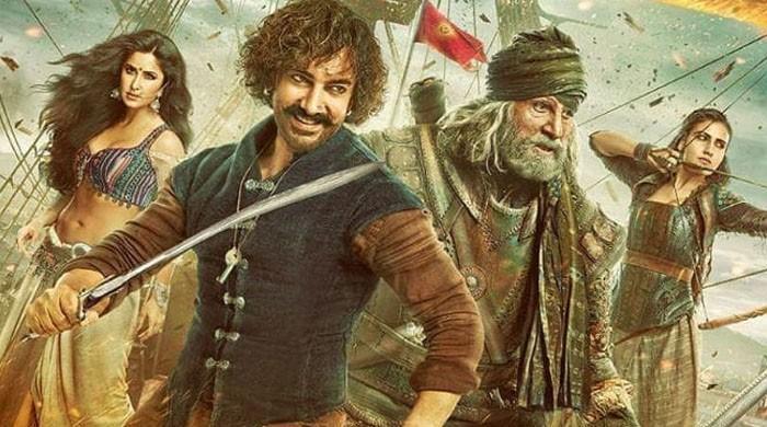 'ٹھگز آف ہندوستان' نے 'باہو بلی 2' کا ریکارڈ توڑ دیا