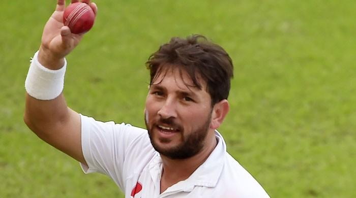 یاسر شاہ ایک میدان میں 50 ٹیسٹ وکٹیں لینے والے تیسرے پاکستانی بن گئے