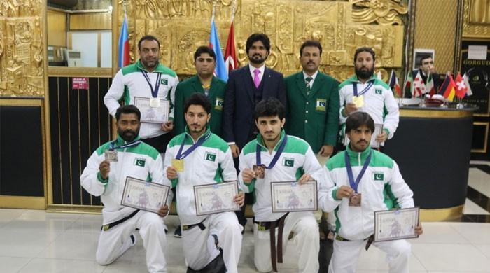 ورلڈ مارشل آرٹ الپاگت چیمپیئن شپ میں پاکستانی ٹیم کی شاندار کارکردگی