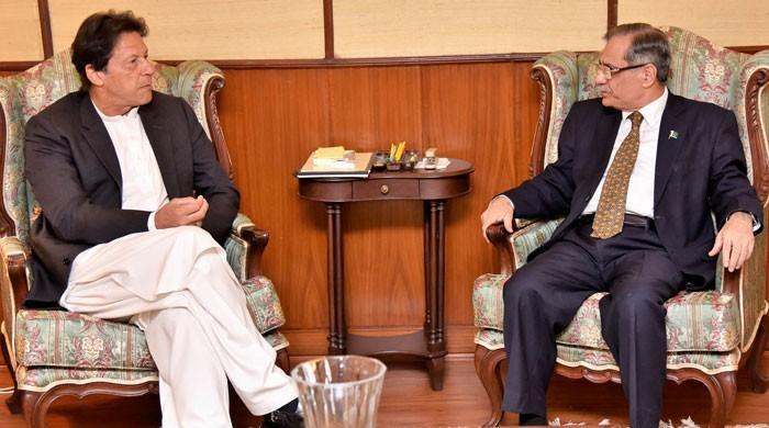 وزیراعظم عمران خان کی چیف جسٹس پاکستان سے ملاقات