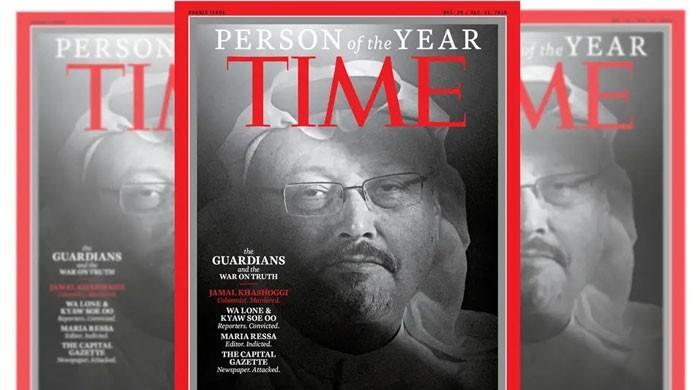 ٹائم میگزین نے صحافی جمال خاشقجی کو پرسن آف دی ایئر منتخب کر لیا