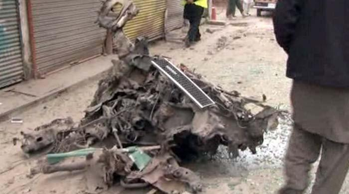 پشاور کےعلاقے کالی باڑی میں دھماکا، 6 افراد زخمی