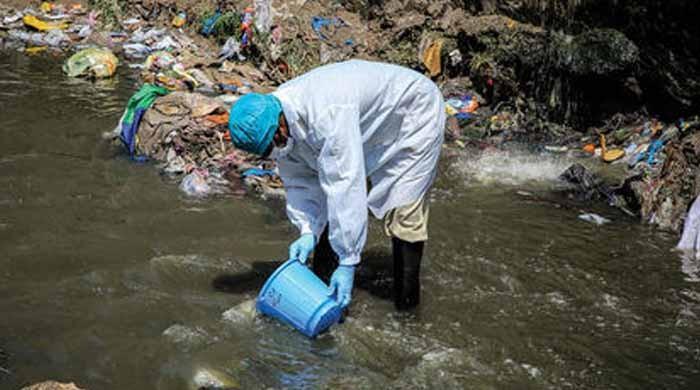 ملک کے 9 علاقوں کے سیوریج سسٹم میں پولیو وائرس کی تصدیق