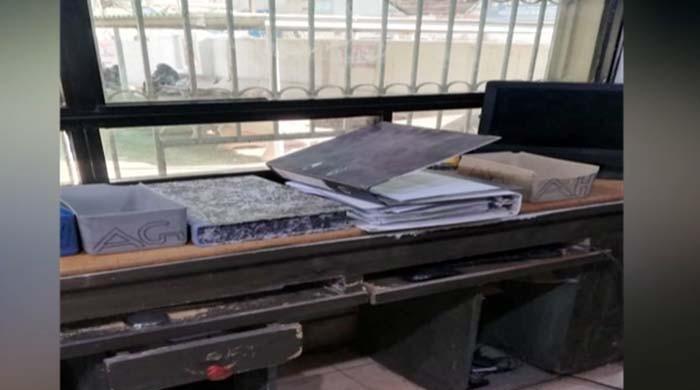 کراچی: لانڈھی میں واقع نادرا دفتر سے سیکڑوں شناختی کارڈ اور اندراج کا رجسٹر چوری