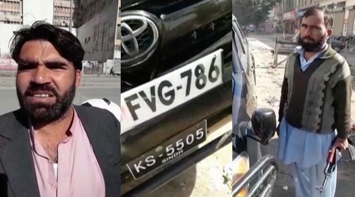 کراچی سے پکڑی گئی ڈبل نمبر پلیٹ والی مشکوک گاڑی فیصل واوڈ کی نکلی