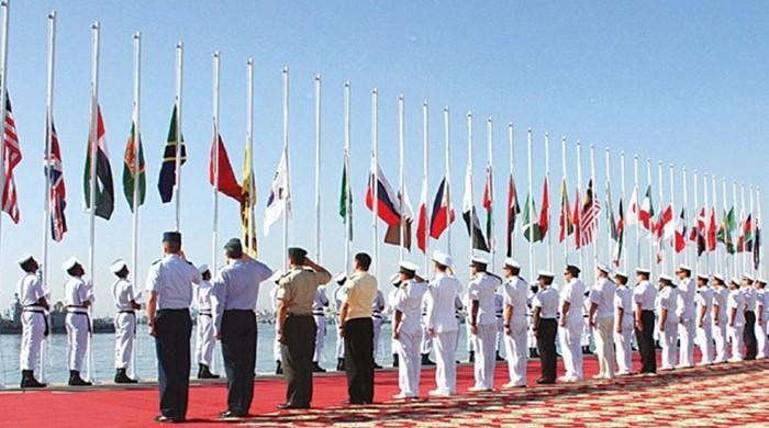 پاک بحریہ کی چھٹی کثیر الملکی بحری مشق 'امن 2019' کا آغاز