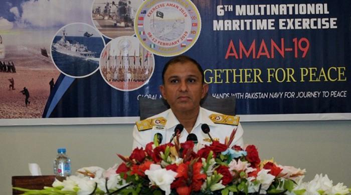 'پاکستان سمندری حدود میں بھارتی جارحیت کا منہ توڑ جواب دینے کیلئے تیار'