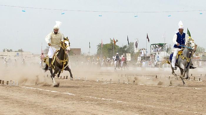 نیزہ بازی: پاکستان میں بادشاہوں کے کھیل کی مقبولیت اور اس کا مستقبل