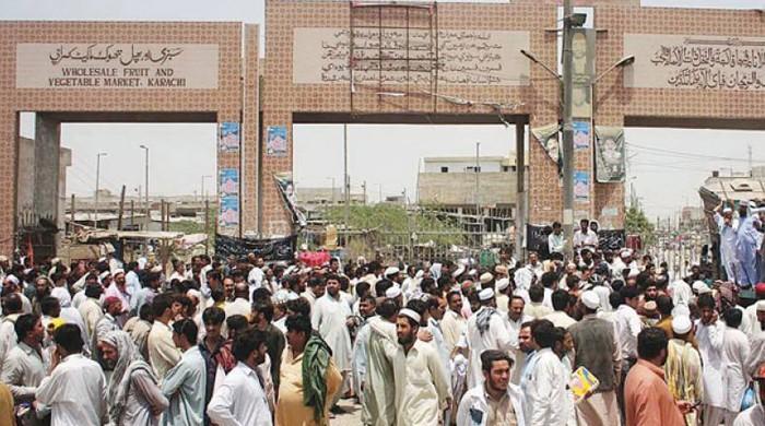 کراچی کی سبزی منڈی میں 2 گروپوں میں فائرنگ سے ایک شخص جاں بحق، 3 زخمی