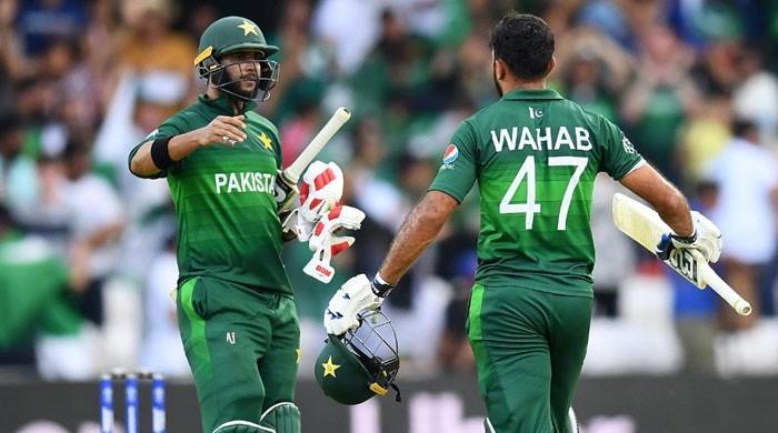 ورلڈکپ 2019: پاکستان نے اعصاب شکن مقابلے کے بعد افغانستان کو 3 وکٹوں سے ہرادیا