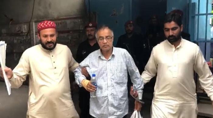جج ارشد ملک کی قابل اعتراض ویڈیو بنانے والا مرکزی ملزم میاں طارق گرفتار