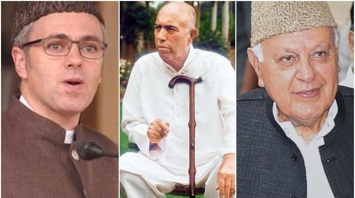 کشمیر کا عبداللہ خاندان: آنسوؤں سے ہوشیار