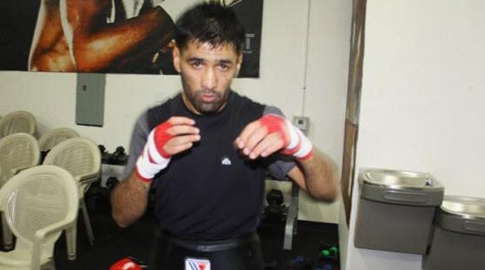 پاکستانی باکسر محمد وسیم ایک بار پھر باکسنگ رنگ میں واپسی کیلئے تیار