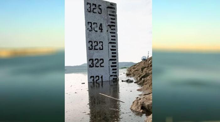 مسلسل بارشوں سے حب ڈیم میں پانی کی سطح 321 فٹ تک پہنچ گئی