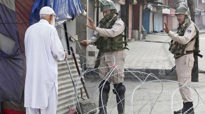 مقبوضہ کشمیر میں کرفیو کا 41 واں روز، معیشت کو یومیہ 120 کروڑ کا نقصان