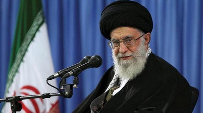 ایرانی سپریم لیڈر آیت اللہ خامنہ ای کا امریکا سے بات چیت سے انکار
