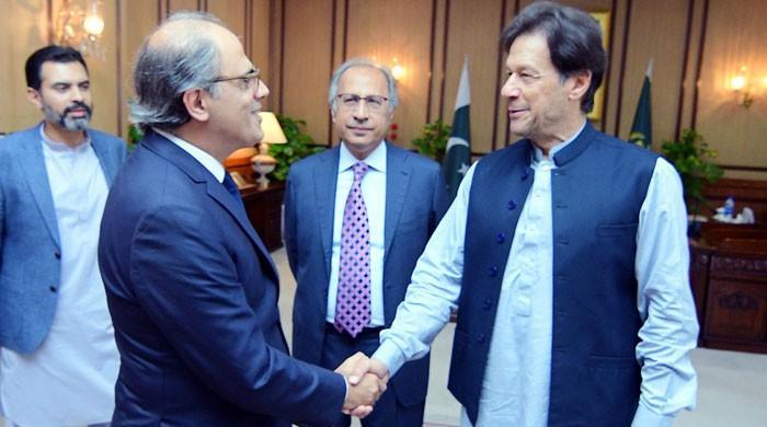 'وزیراعظم نے آئی ایم ایف پروگرام کے اہداف کے حصول کی یقین دہانی کرائی ہے'