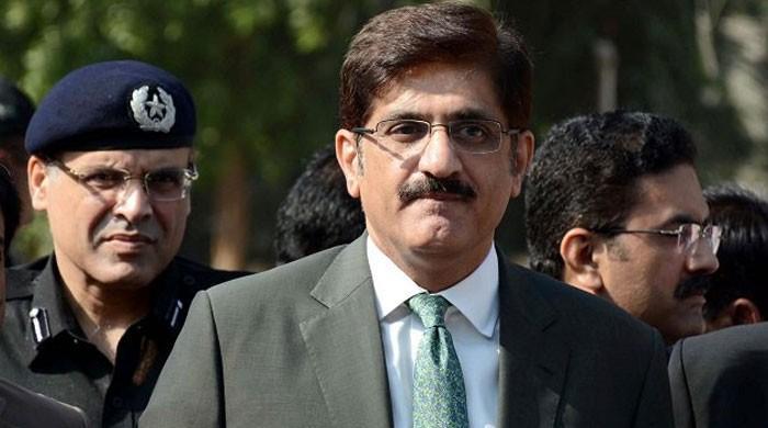 'وزیراعلیٰ سندھ مراد علی شاہ پر گرفتاری کی تلوار لٹک رہی ہے'