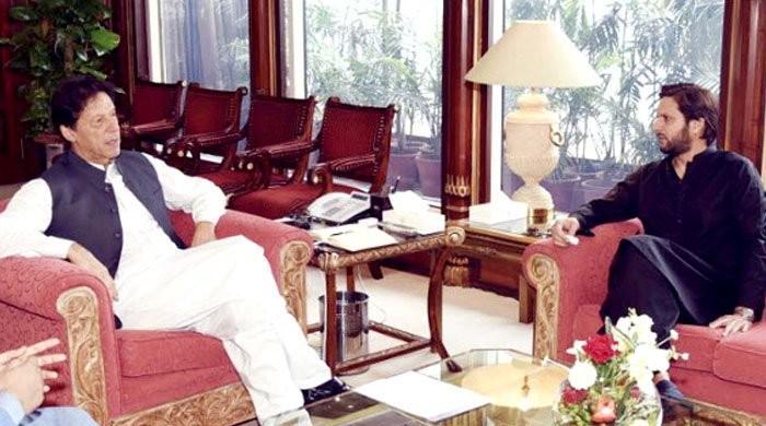 کیا پنجاب میں آپ کے پاس بہترین بندہ نہیں؟ شاہد آفریدی کا وزیراعظم سے سوال