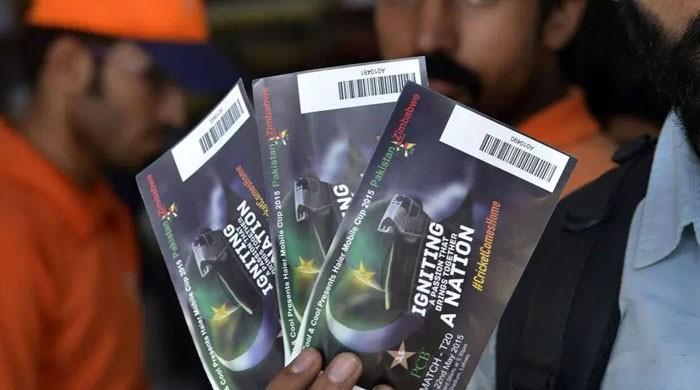 سری لنکا کے خلاف سیریز کیلئے ٹکٹوں کی فروخت کا اعلان