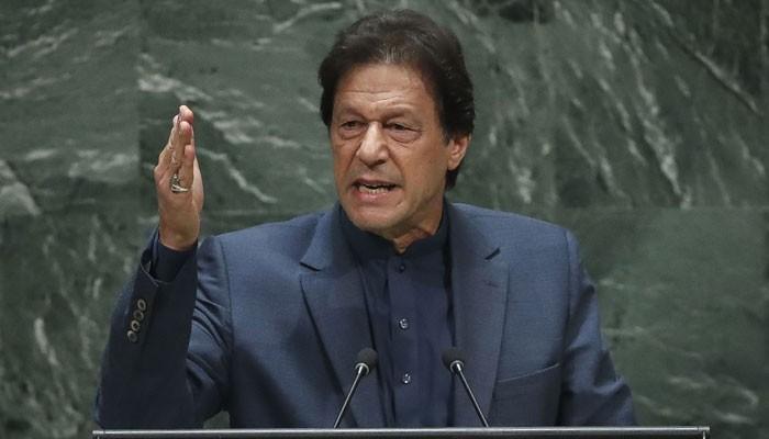 وزیراعظم کا جنرل اسمبلی سے خطاب، کشمیر میں مظالم اور بھارت کا مکروہ چہرہ بے نقاب کردیا