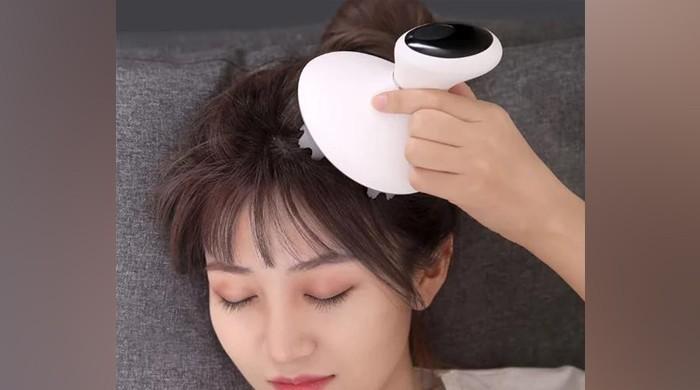 سر کے درد سے نجات کیلئے مساج کی مشین متعارف