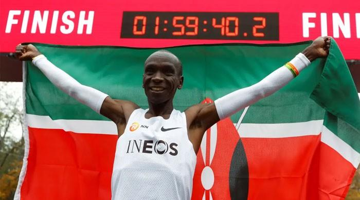 ایتھلیٹک فیڈریشن نے کینیا کے ایتھلیٹ کا ورلڈ ریکارڈ ماننے سے انکار کردیا