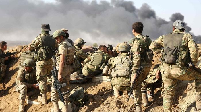 ترکی کا شمالی شام میں فوجی آپریشن میں 480 کرد جنگجوؤں کو ہلاک کرنے کا دعویٰ