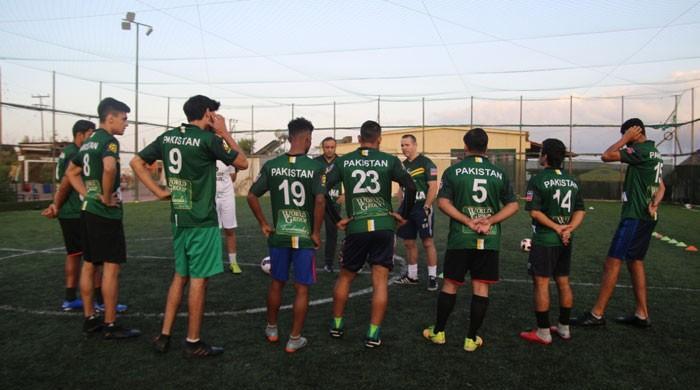 یونان کا ویزہ نہ ملنے پر متعدد پاکستانی فٹبالر سوکا ورلڈکپ میں شرکت سے محروم